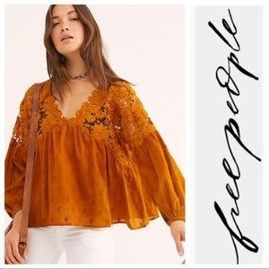 🧡🧡Free People Lina Lace Top🧡🧡NWOT